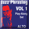 Jazz Phrasing for Saxophone Vol.1 - iPad App  [Alto]