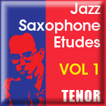 Jazz Phrasing for Saxophone Vol.1 - iPad App [Tenor]